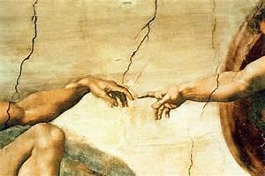 The Sistine Chapel Creation Of Adam