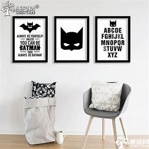 Batman poster wall home decor canvas art print