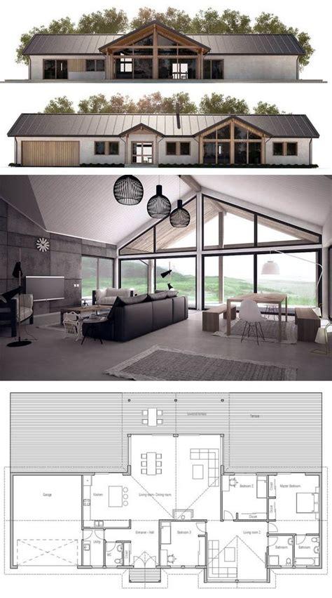 inspiring floor plan modern house photo les 25 meilleures id 233 es de la cat 233 gorie plans d open space