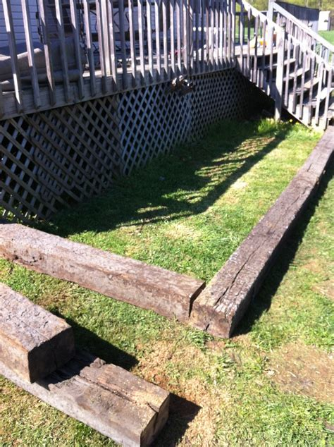 railroad ties for garden the 18 best images about railroad ties on pinterest image search railroad ties landscaping