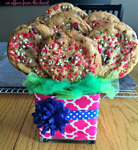 cookie bouquets how to make an easy cookie bouquet an affair from the heart