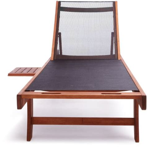chaise textilene strathwood basics chaise lounge chair with textilene