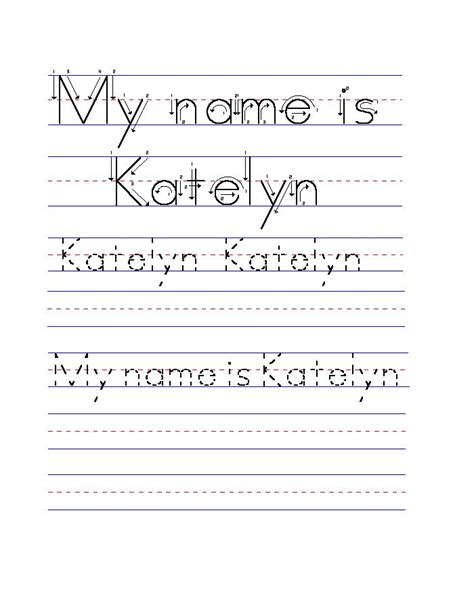 25 name tracing worksheets ideas on