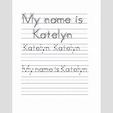 Best 25+ Name Tracing Worksheets Ideas On Pinterest  Tracing Names, Free Name Generator And