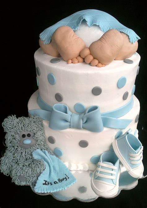 baby shower cakes for a boy quot baby rump quot baby shower cake it s a boy vanilla cake with buttercream icing fondant accents
