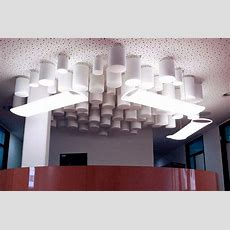 Acoustic Ceiling Baffles For Sound Absorption