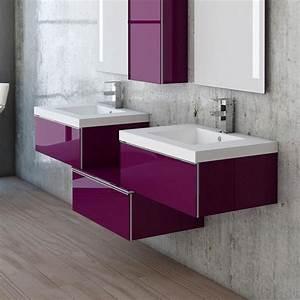 3 Suisses Meuble Salle De Bain : meuble salle de bain plan vasque r sine 3 tiroirs duo ~ Teatrodelosmanantiales.com Idées de Décoration