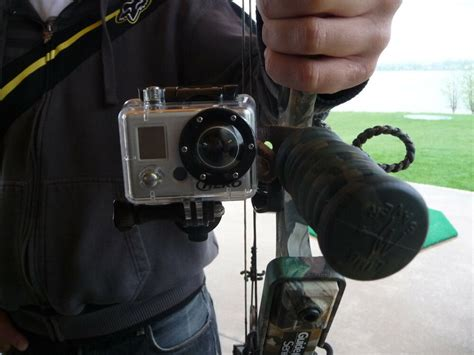 bow hunting camera mount mount   bow   camera