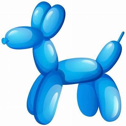 Balloon Dog Clip Balloons Clipart Animals Animal