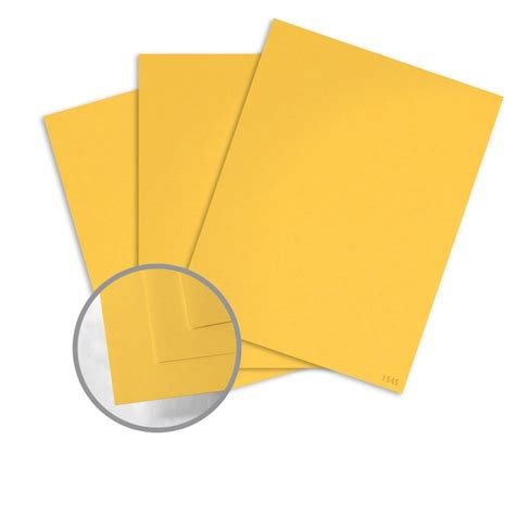 Each pack has 10 sheets. Yellow Light Card Stock - 8 1/2 x 11 in 65 lb Cover Vellum 100% Recycled | Glo-Tone Card Stock 3 ...