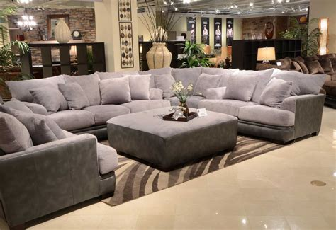 rooms to go sectional sofa reviews jackson barkley sectional sofa set grey jf 4442 sect set