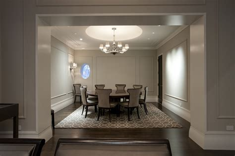 staggering baseboard molding decorating ideas  dining