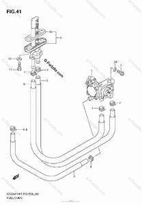 Suzuki Motorcycle 2008 Oem Parts Diagram For Fuel Cock