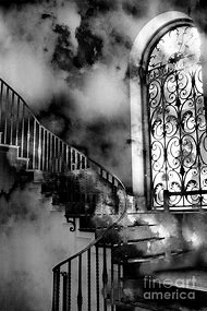 Gothic Black and White Surreal Photography