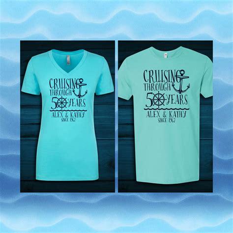 custom anniversary cruise shirts