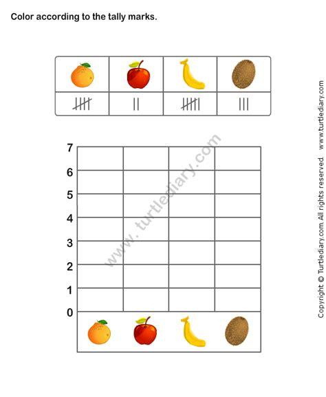bar graph worksheet printable math worksheets bar
