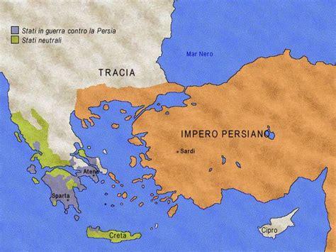 Tra Persiani E Greci La Grecia Classica E Lo Scontro Con I Persiani V A C