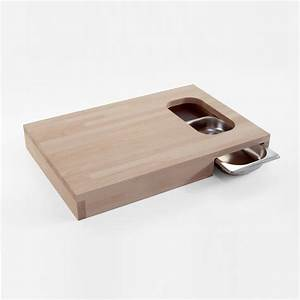 Planche De Bois Massif : chop planche d couper en bois avec bac alimentaire en ~ Melissatoandfro.com Idées de Décoration