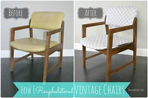 Reupholstering vintage dining chairs tiny sidekick for Recover wicker furniture