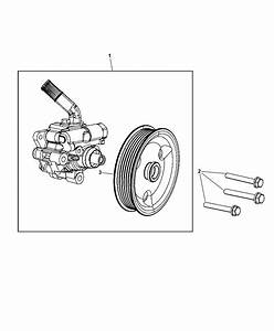 Power Steering Pump For 2014 Jeep Grand Cherokee