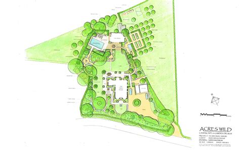 acres wild masterplan artfully accessible acres country garden designers