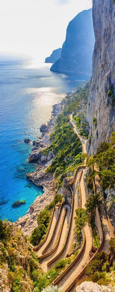 Capri Island Italy Nature At Its Best Pinterest
