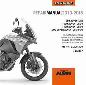 Aomc Mx  Ktm Dvd Repair Manual 1190  1290 Adventure 13