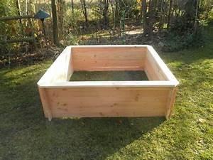 Mini Potager En Bois : potager en bac bois teciverdi ~ Premium-room.com Idées de Décoration