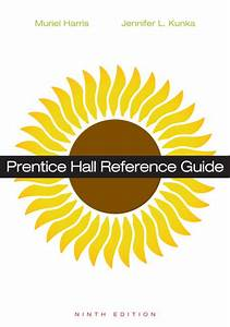 Prentice Hall Reference Guide  9  E 9th Edition Solution