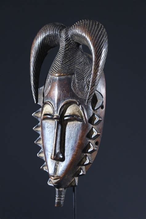 Masque Baoule (11447) - Masque africain, art tribal, art ...