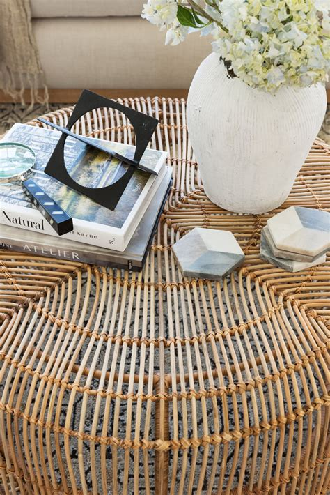 How much is too much? is a question i'm asked a lot. Hacks for Round Coffee Table Styling - Studio McGee
