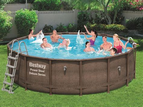 bestway pool stela deluxe xcm   swimming