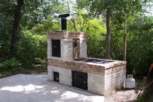 Building a Brick BBQ Pit and Smoker