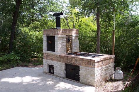 building a brick bbq smoker youtube