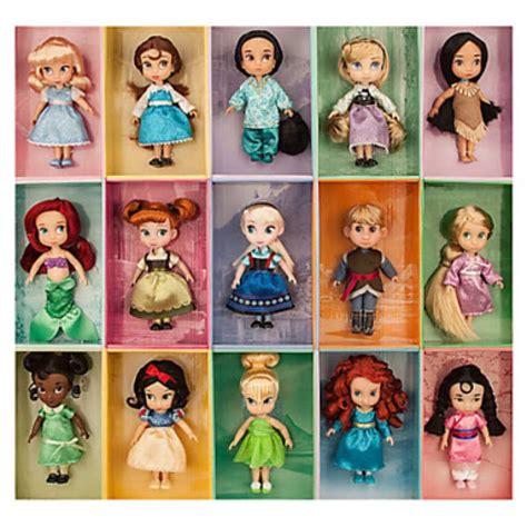 disney princess plush ariel 8 inch set de mini princesas animators 3 200 00 en mercado libre