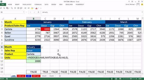 3 way table ls excel magic trick 1086 3 way lookup formula conditional