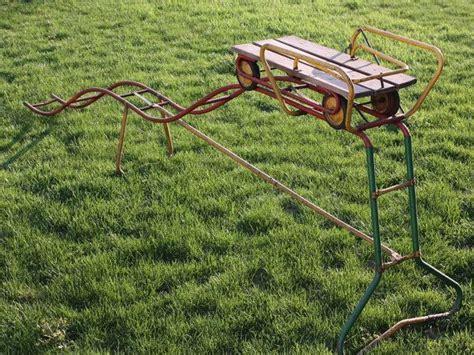 vintage  yard roller coaster