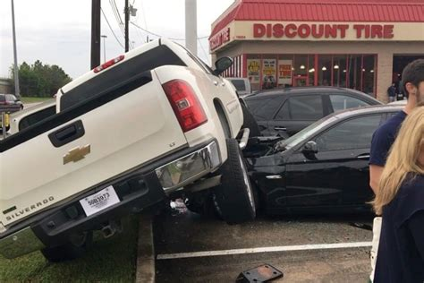 Intoxicated Driver Drives Onto Discount Tires Customers