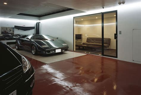 The House That Parks A Lamborghini In The Living