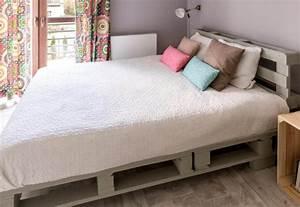 Palettenbett Bauen 140x200 Anleitung : diy anleitung palettenbett bauen palettenbett bett aus ~ Watch28wear.com Haus und Dekorationen