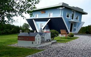 Haus Steht Kopf : 1000 images about crazy houses verr ckte h user on ~ Watch28wear.com Haus und Dekorationen