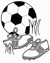 Pages Football Coloring Soccer Coloringpages1001 Ball Foot sketch template