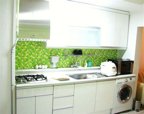 kitchen backsplash green green tile kitchen backsplash kitchentoday 2215