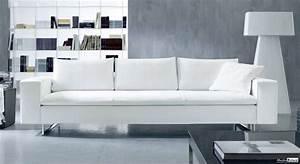 Canape Tissu Haut De Gamme : canap cuir blanc haut de gamme ensemble canap ~ Dode.kayakingforconservation.com Idées de Décoration