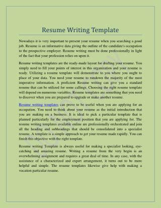 resume writing ppt free ppt how to write a resume 2016 powerpoint presentation id 7242117