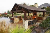 nice outdoor kitchen ideas Outdoor Kitchen Designs with Fireplace | covered outdoor kitchen/fireplace | Outdoor Room Ideas ...