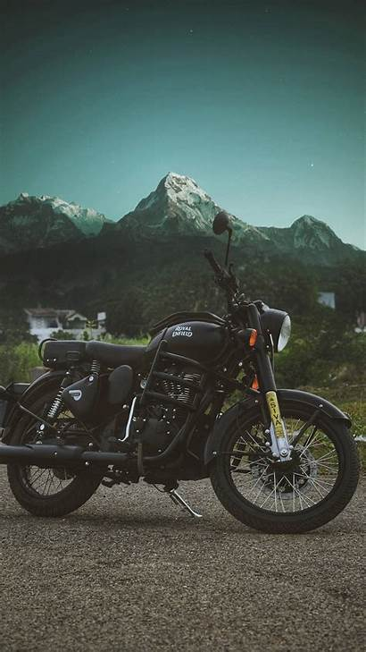 Enfield Royal Stealth Iphone Wallpapers Bullet Himalayas
