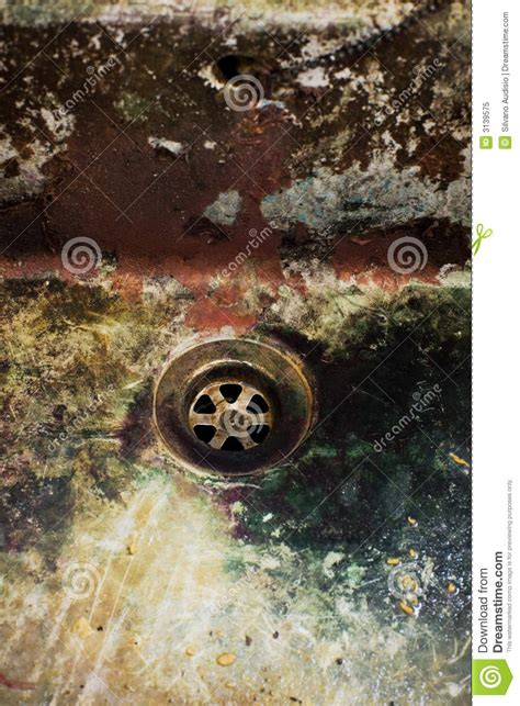 dirty drain royalty  stock photo image