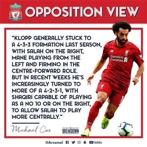 Arsenal v Liverpool: The Brief | Pre-Match Report | News ...