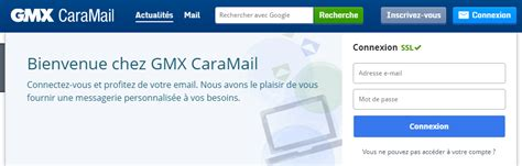 Gmx Mobile Email by T 201 L 201 Charger Gmx Caramail